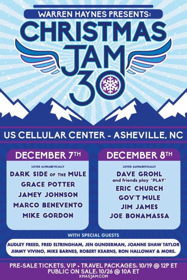 Warren Haynes\' Christmas Jam to Feature Gov\'t Mule, Joe Bonamassa ...