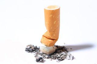 Smashed cigarette, smoking policies