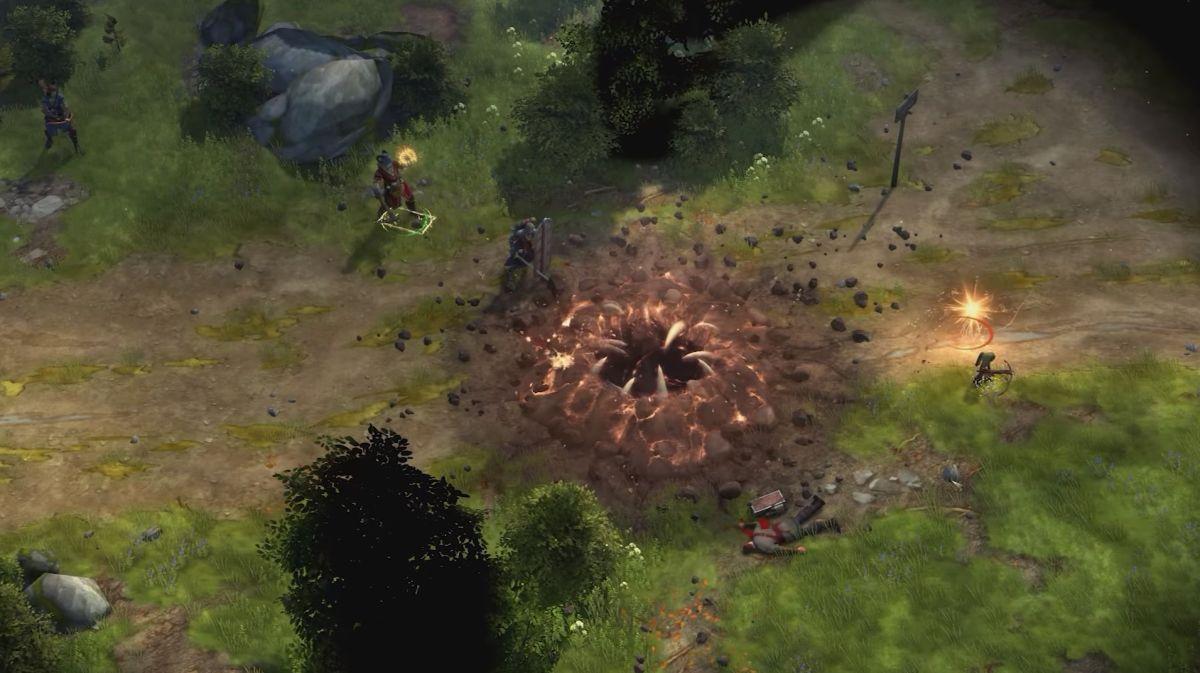 Pathfinder: Kingmaker free DLC lets you summon a sarlacc