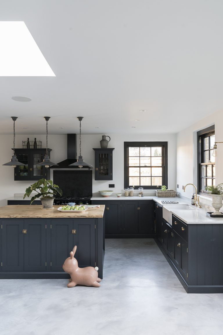 Get The Look This Is Devol Cabinetry Perrin Rowe Brware Also From Larch Work Surface By Brandler London And Quartz Worktop