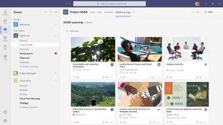 Microsoft Viva Learning