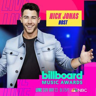 Nick Jonas to host Billboard Music Awards