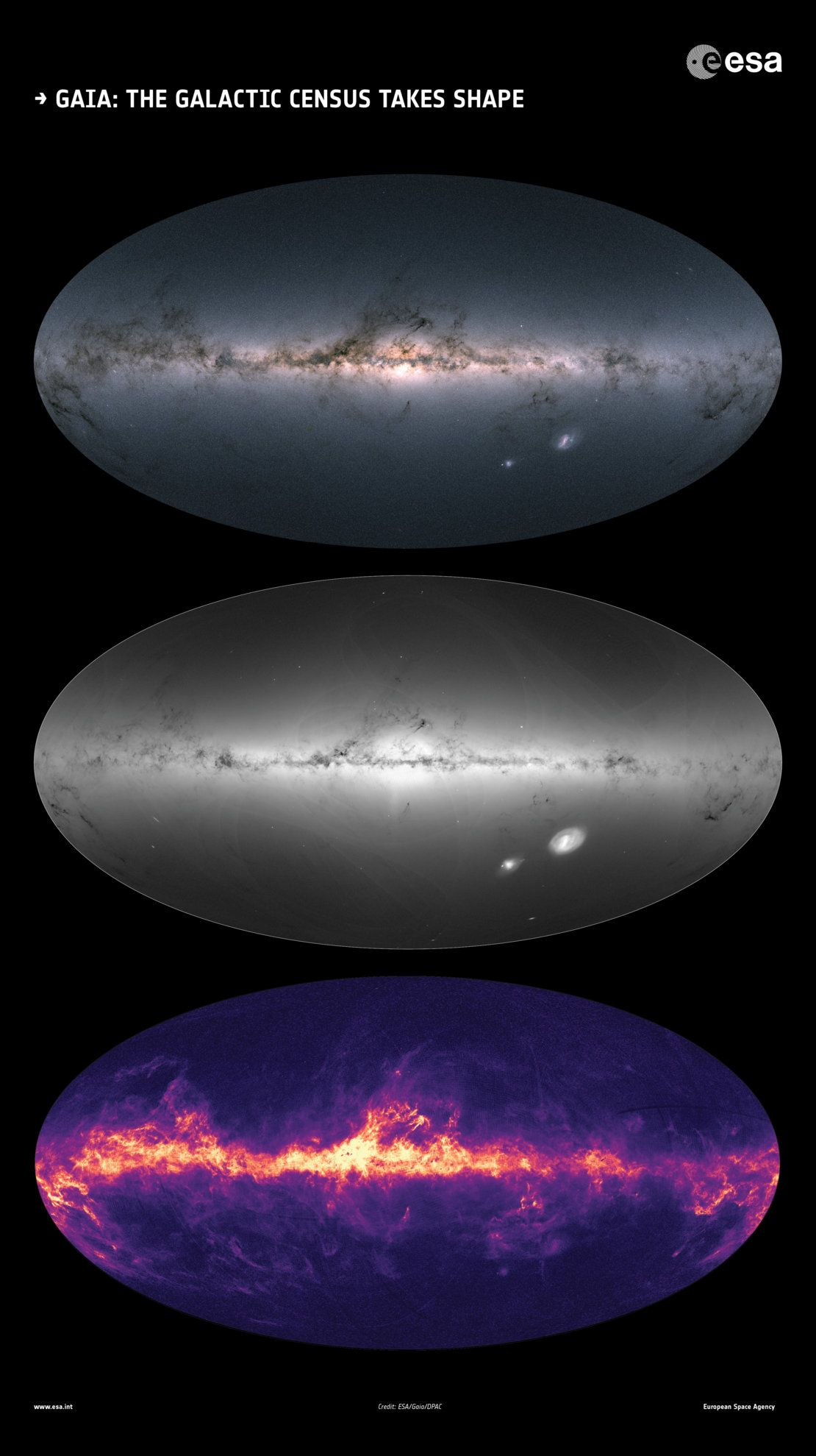 This 3D Color Map of 1 7 Billion Stars in the Milky Way Is the Best