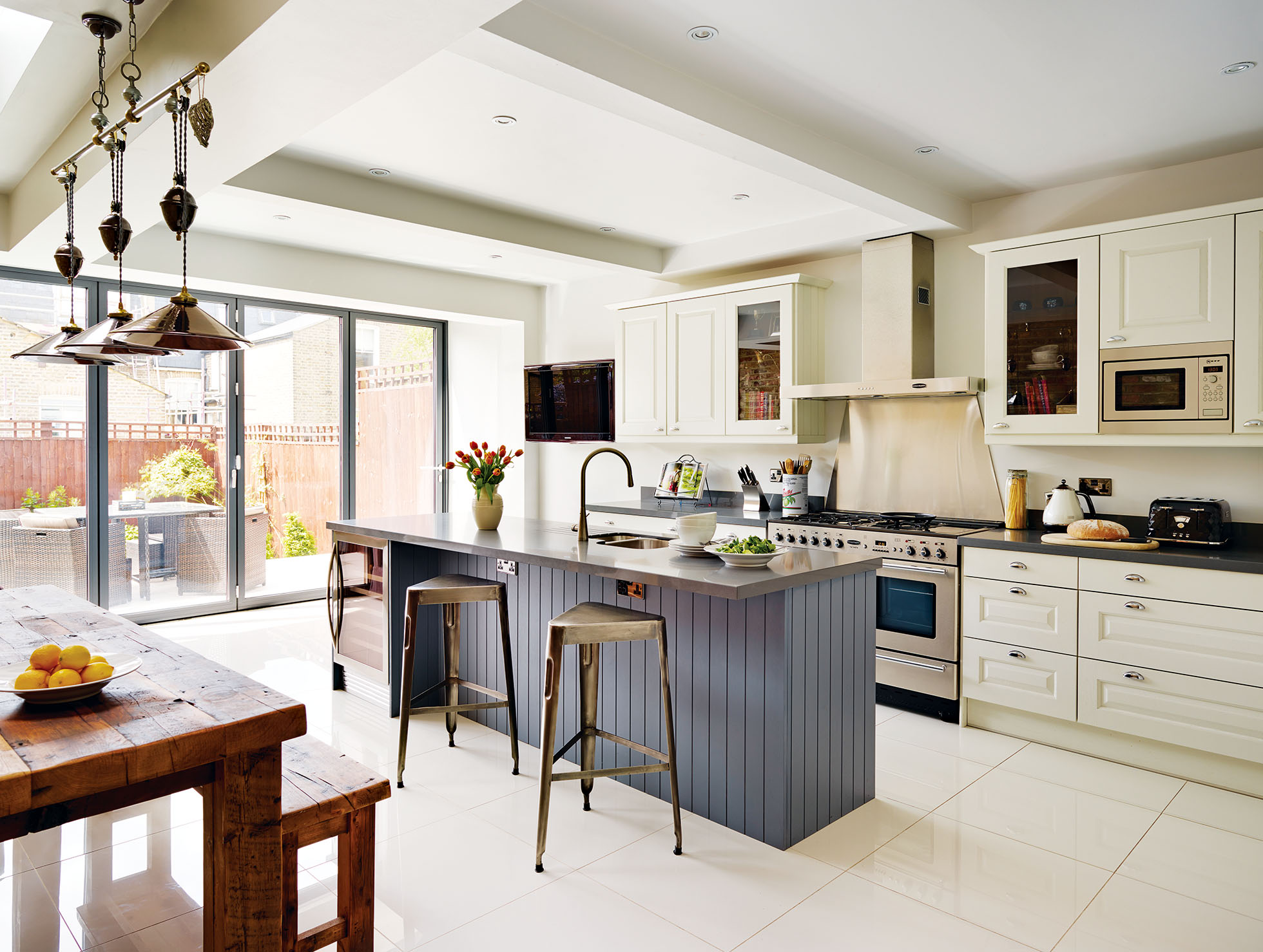 Converting two Victorian flats into a family home | Real Homes