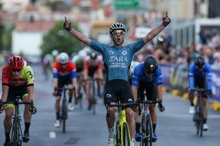 Matthew Rice (ARA Pro-Racing Sunshine Coast) wins the criterium title at the 2021 Australian Road Championships