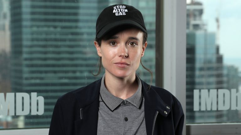 Ellen Page attends The IMDb Studio Presented By Intuit QuickBooks at Toronto 2019 at Bisha Hotel & Residences on September 07, 2019 in Toronto, Canada.