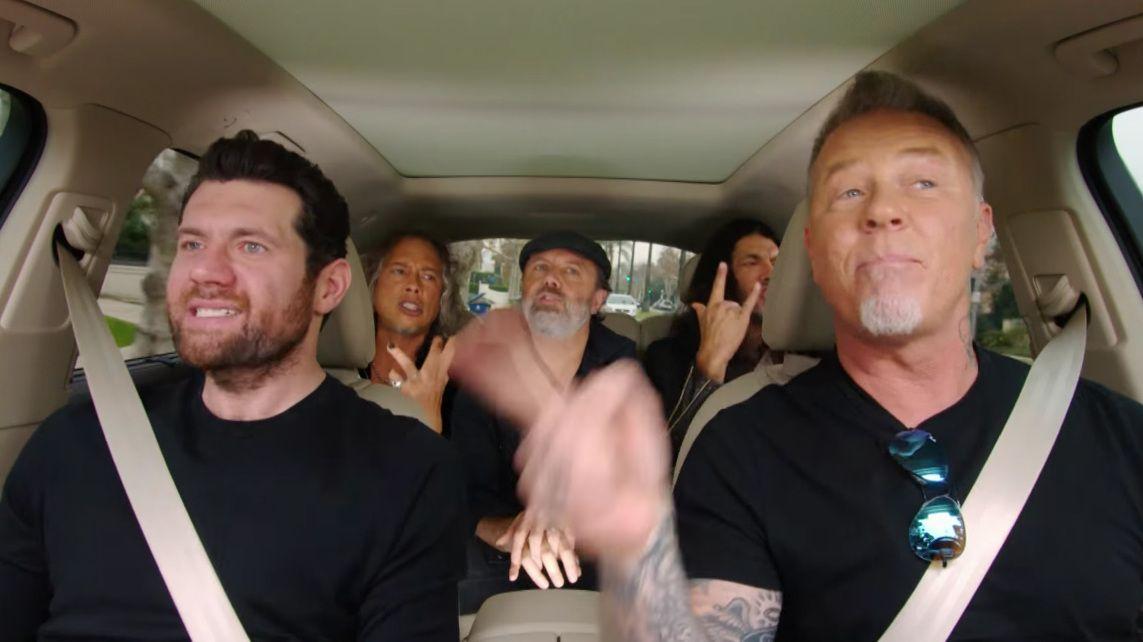 Metallica to star in new series of Carpool Karaoke