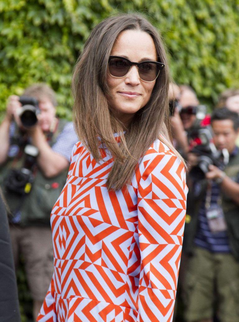 Pippa Middleton Geometric Dress