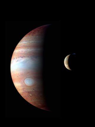 Jupiter-Io Montage