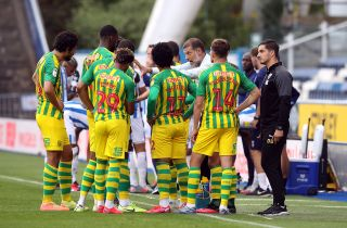 Huddersfield Town v West Bromwich Albion – Sky Bet Championship – John Smith's Stadium