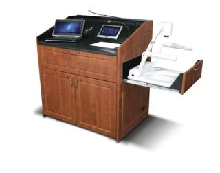 Middle Atlantic Introduces AV-Focused Lecterns