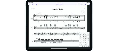 Avid Sibelius for iPad/iOS