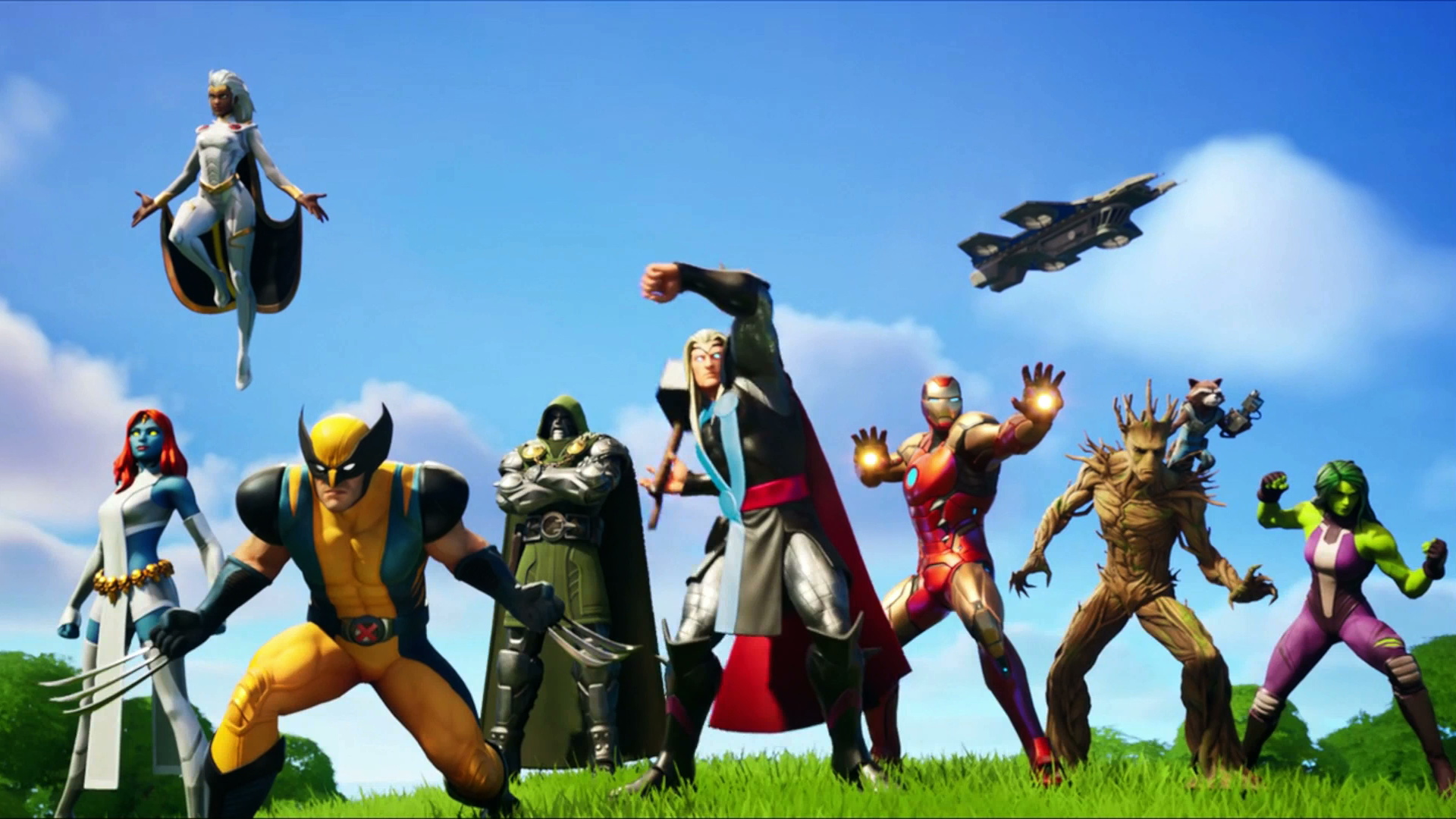 Fortnite Awakening Challenges How To Unlock Built In Emotes For All Of The Marvel Heroes Gamesradar