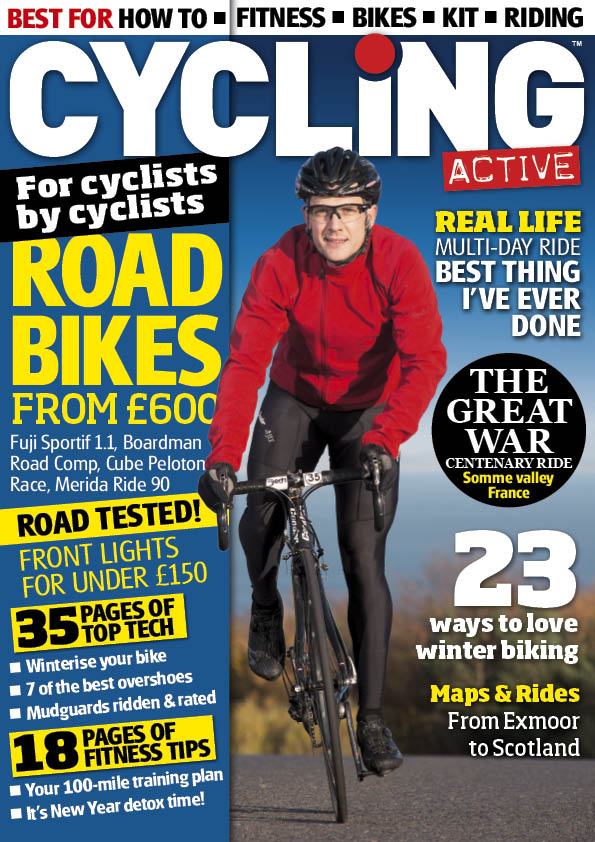 Cycling Active February 2014 issue