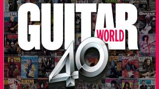 Guitar World 40 cover