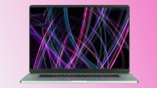 MacBook Pro 16-inch 2021 render