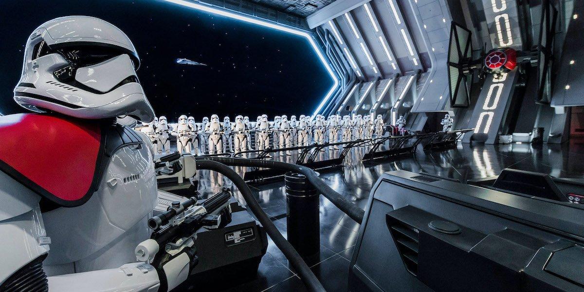 Star Wars: Rise of the Resistance Hangar in Star Wars: Galaxy's Edge
