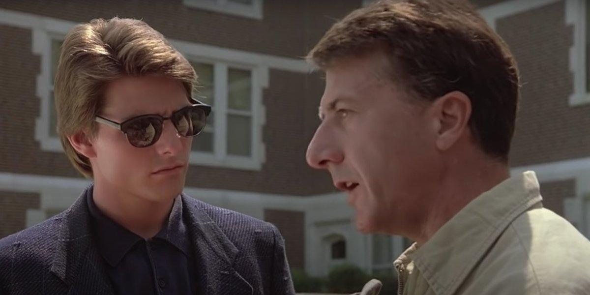 Tom Cruise and Dustin Hoffman in Rain Main