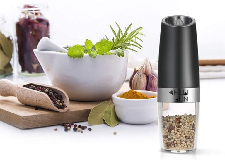 pepper mill electric Gravity Pepper Grinder