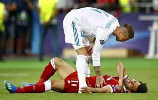 Liverpool vs Real Madrid, Champions League, Sergio Ramos and Mohamed Salah