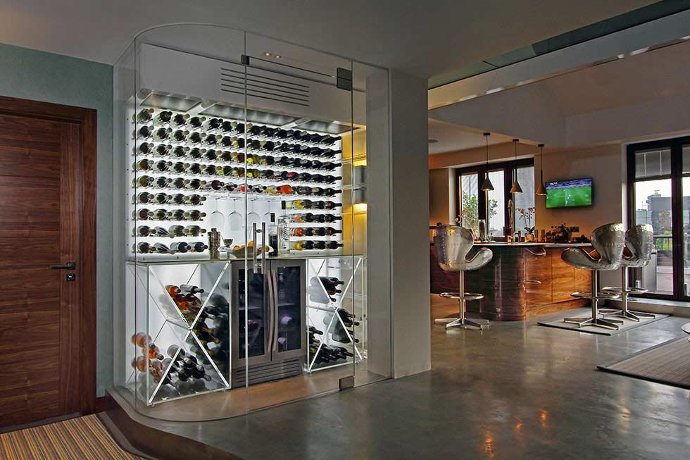 How To Build A Wine Room Or Wine Cellar Real Homes