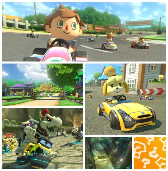 Mario Kart 8 DLC Screenshots Reveal New Characters, Tracks #31832