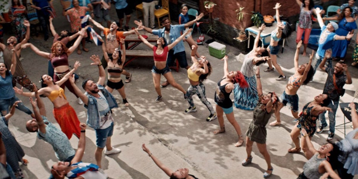 In The Heights dancers