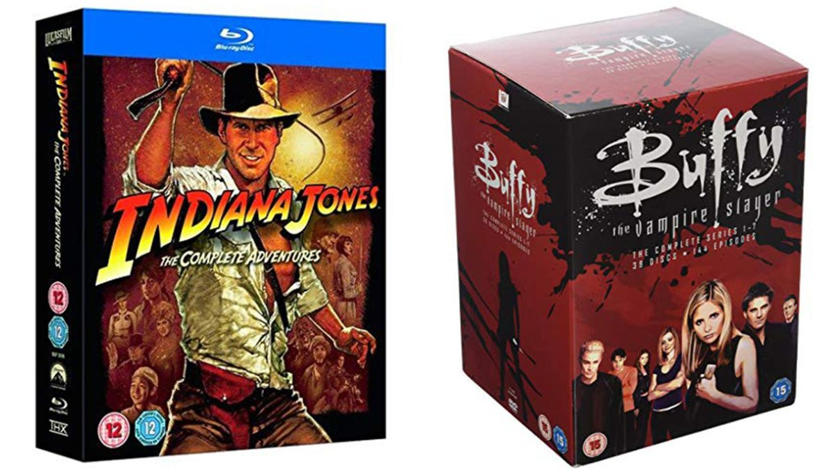 Get 25% off selected box sets this Amazon Prime Day (like every Indiana Jones movie for £12 and ALL of Buffy for less than £30)