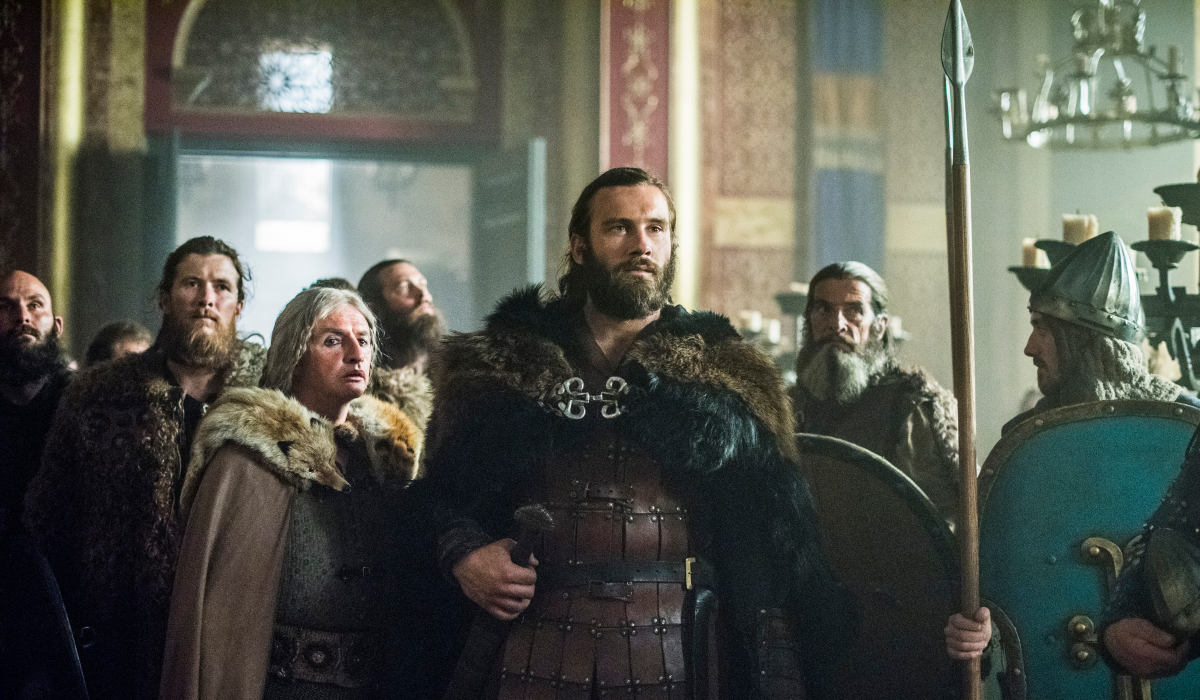 Vikings Frankie McCafferty Sinric Rollo Clive Standen History