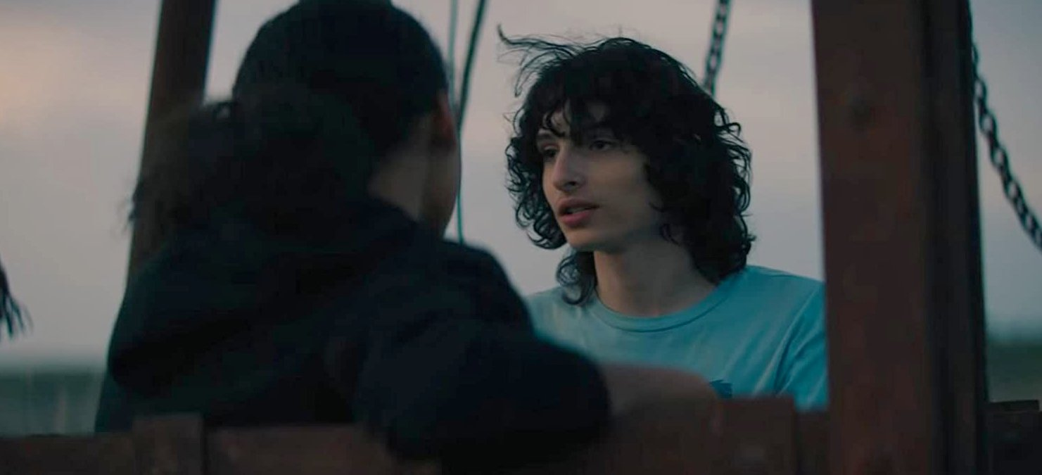 Finn Wolfhard in Ghostbusters: Afterlife
