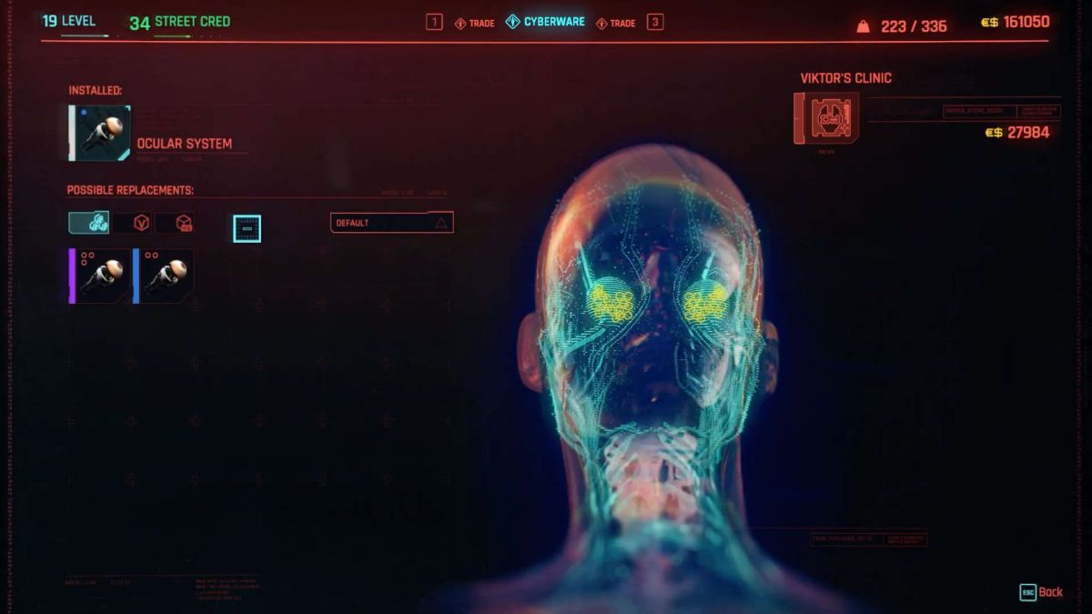 This real life Cyberpunk 2077 eye mod makes my skin crawl