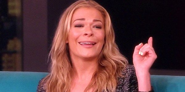 LeAnn Rimes on The View in 2013