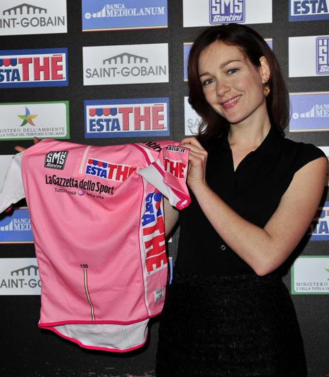 Cristiana Capotondi at 2011 Giro d