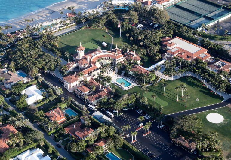 Donald Trump Florida home - his house Mar a Lago