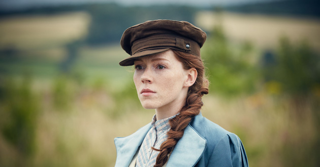 Charlotte Spencer plays Charlotte Appleby in The Living and the Dead