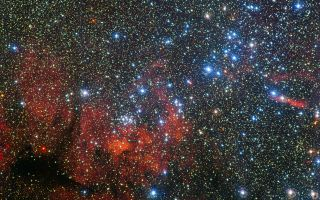 Colorful Star Cluster NGC 3590 1920