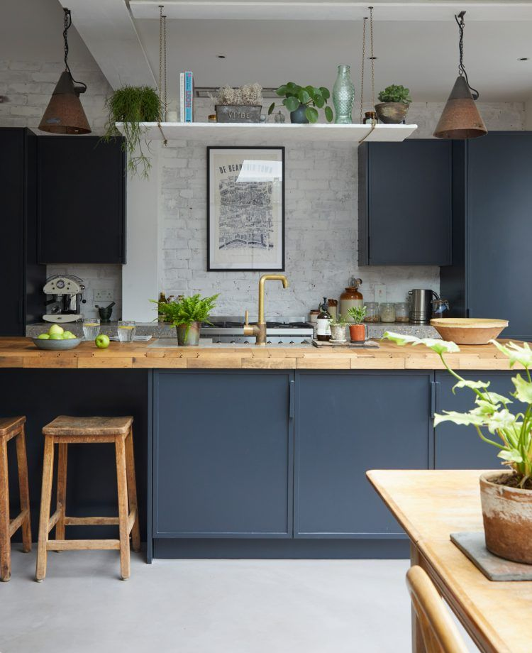 Royal Kitchen Design: Blue Kitchen Ideas: Powder Blue, Navy Blue & Dark Kitchen