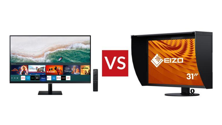 Samsung M70A Smart Monitor vs Eizo ColorEdge CG319X