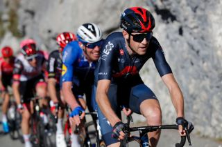 LEVENS FRANCE MARCH 14 Laurens De Plus of Belgium and Team INEOS Grenadiers during the 79th Paris Nice 2021 Stage 8 a 927km stage from Le PlanduVar to Levens 518m Breakaway Stage itinerary redesigned due to COVID19 lockdown imposed in the city of Nice ParisNice on March 14 2021 in Levens France Photo by Bas CzerwinskiGetty Images