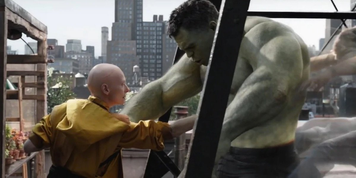 The Ancient One and Hulk
