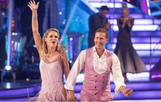 Strictly Come Dancing Charlotte Hawkins exit