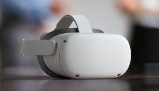 An image of an Oculus Quest 2 VR headset.