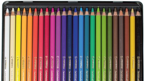 Spectrum of CarbOthello pastel pencils
