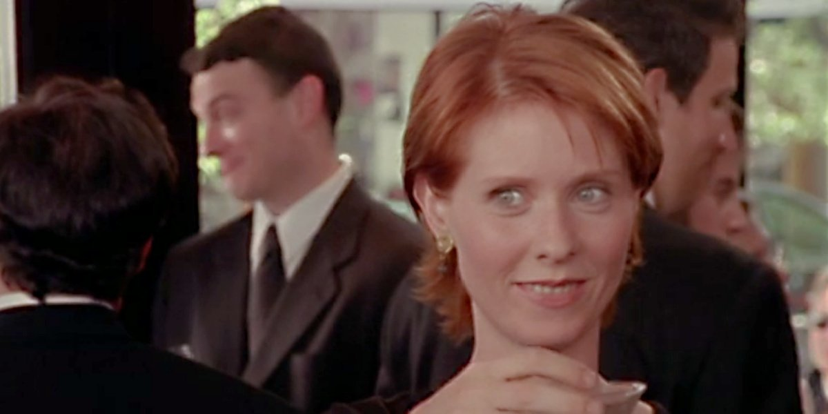 Miranda Hobbes in Sex and the City.