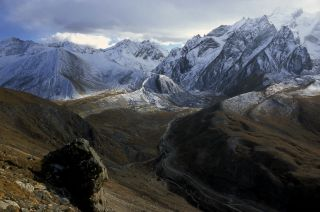 Tibet glaciers