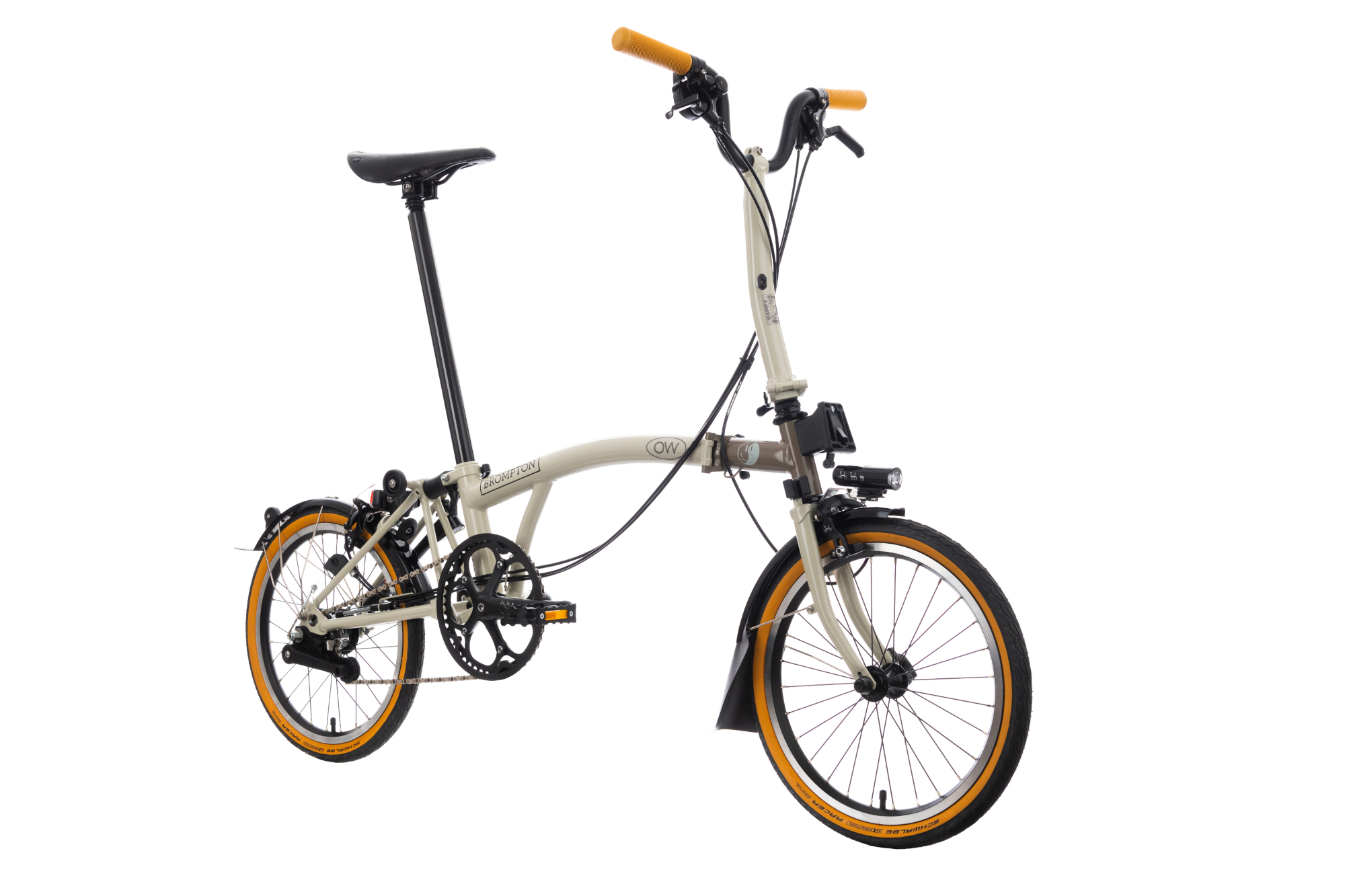 Custom Bromptons auctioned for charity: Oh Wonder