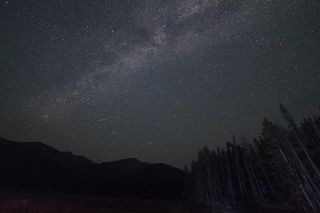 2018 Perseid meteor shower, central idaho dark sky reserve