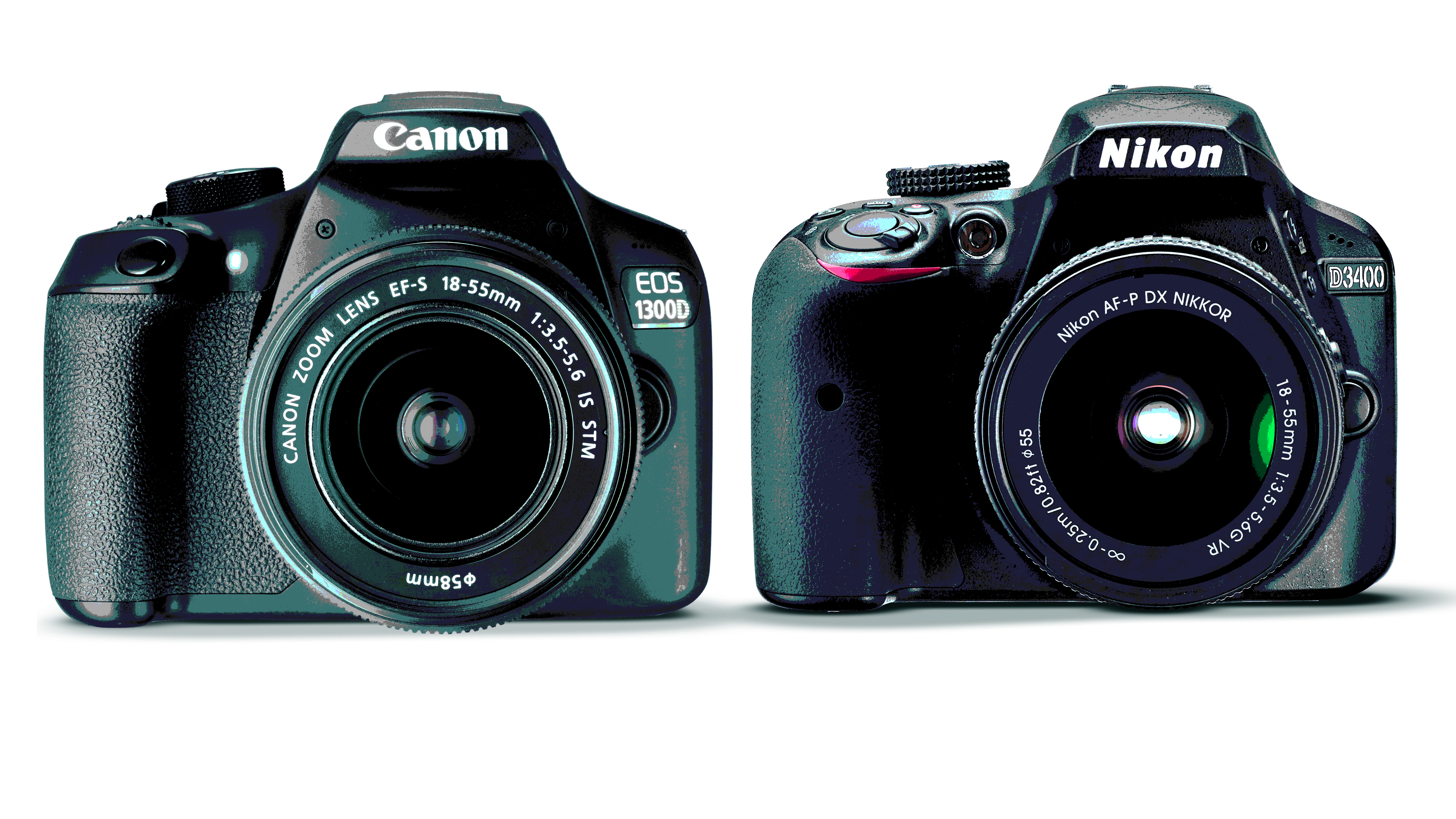 Canon EOS 1300D vs Nikon D3400: Which one should you buy