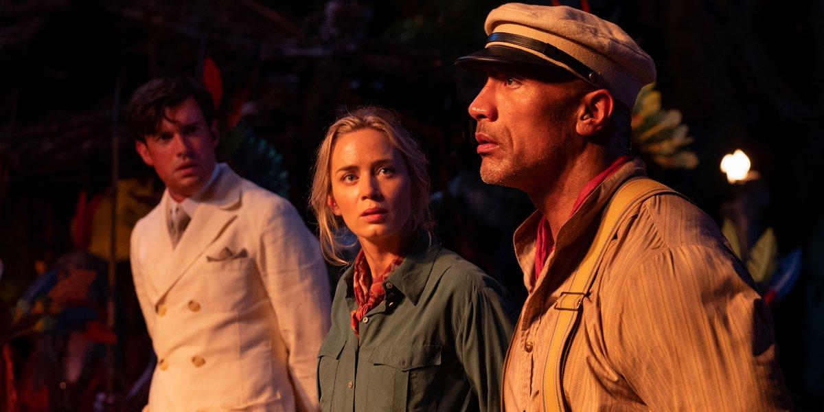 Jungle Cruise Dwayne Johnson Emily Blunt and Jack Whitehall