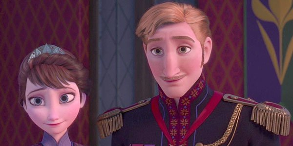 Elsa and Anna's parents in Frozen